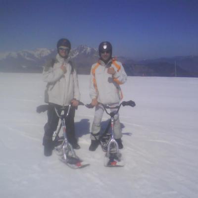 Sortie Snowscoot 30-3-2012