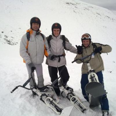 Sortie Snowscoot 29-1-11