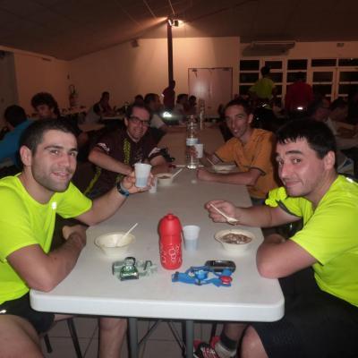 Rando nocturne Lagrace Dieu 6-10-2012