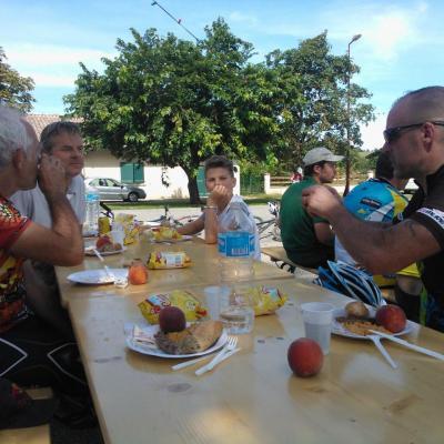La Rando des Coteaux 24-8-2014