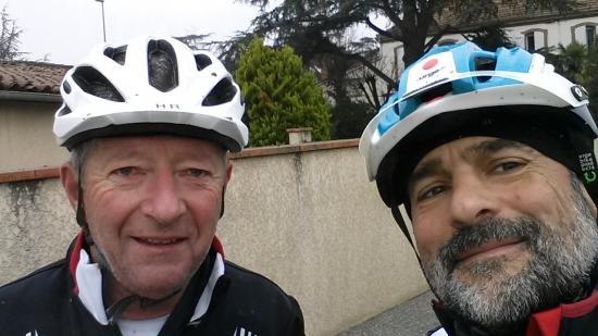 Deux Biclous heureux après une année de VTT